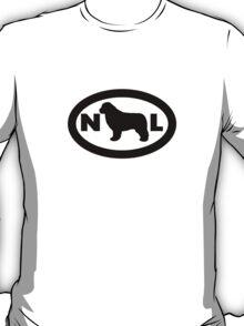 Newfoundland Dog Smybol T-Shirt