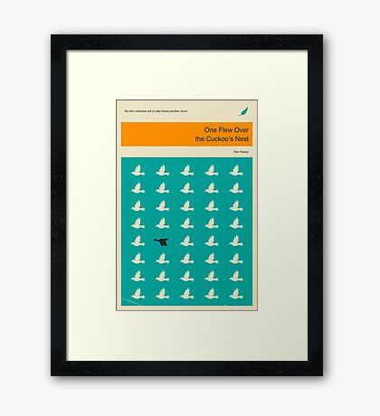 ONE FLEW OVER THE CUCKOOS NEST Framed Print