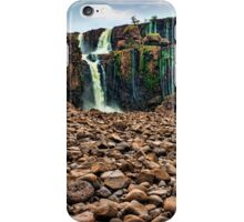 Iguazu Falls - Across the Rocks iPhone Case/Skin