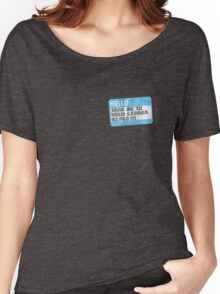 Take me to your leader, biped! Women's Relaxed Fit T-Shirt