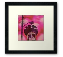 Psychedelic Tower Framed Print