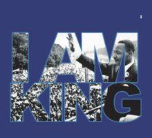 I AM KING Jordan 7 flint grey T-Shirt