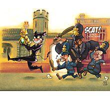 Scatt! Darn Catwoman Photographic Print
