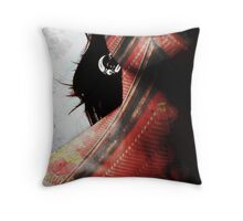 Temple tattoo Throw Pillow