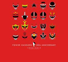 Power Rangers 20th Anniversary - 1993-2013 Unisex T-Shirt