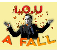 I.O.U A FALL Photographic Print