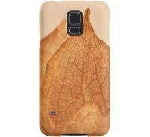 Lavatera Seed Macro  Samsung Galaxy Case/Skin