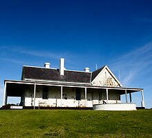 The Old Telegraph Station at Cape Otway by lammi
