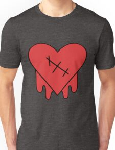 Gravity Falls - Robbie V's Edgy on Purpose heart Unisex T-Shirt