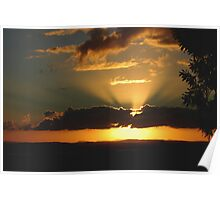 As the sun goes down Poster