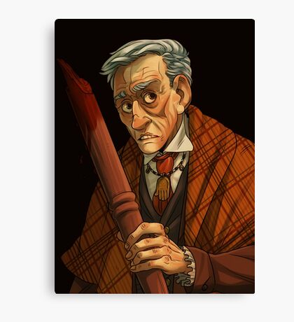 Peter Vincent, Vampire Killer Canvas Print