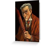 Peter Vincent, Vampire Killer Greeting Card