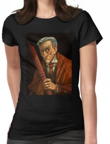 Peter Vincent, Vampire Killer Womens Fitted T-Shirt