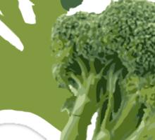 But Broccoli Loves You! Sticker