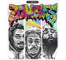 Flatbush Zombies T-shirt Poster