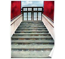 Stairs to the Barn Poster
