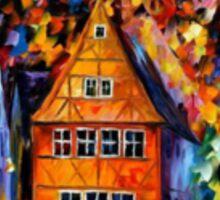 Germany, Medieval Rothenburg — Buy Now Link - www.etsy.com/listing/219044573 Sticker