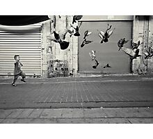 happy runner Photographic Print