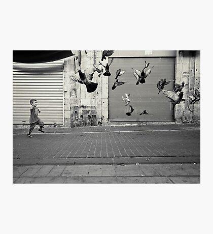 happy runner Photographic Print