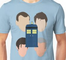 The Faces Of The Doctor Unisex T-Shirt