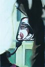 Motorbike Wing Mirror 2 by Tania  Donald
