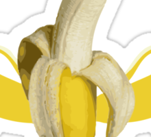 I like bananas. Bananas are good. Sticker