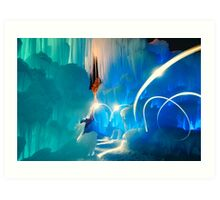 I was in another world Art Print