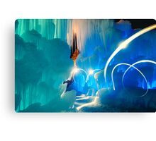 I was in another world Canvas Print