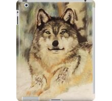 Winter Wolf - Silent Observer iPad Case/Skin