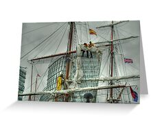 Tall Ships' Race: Liverpool 2008 -4 Greeting Card