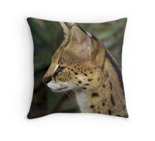 Serval Throw Pillow