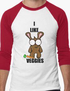 Veggies... Men's Baseball ¾ T-Shirt