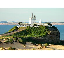 Nobbys Light House - Newcastle Photographic Print