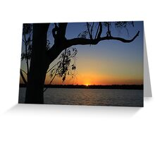 Early morning at  Lake Yarrie Greeting Card
