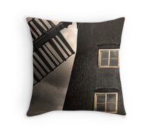 North Leverton Windmill - Close up Throw Pillow