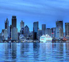 Metropolis - Sydney, New South Wales, Australia by Mark Richards