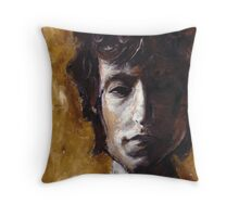 i know, ma, i know, i may never be Bob Dylan.... Throw Pillow