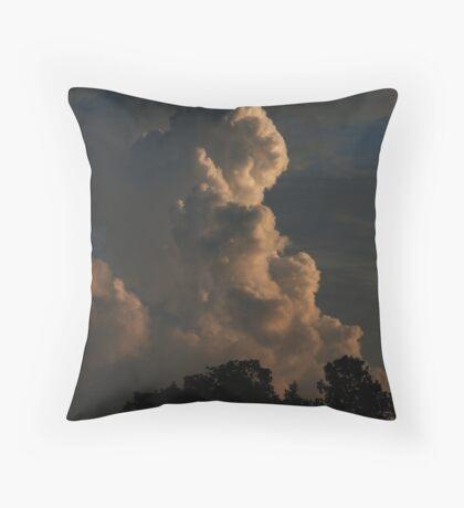 Thunder Cloud Throw Pillow