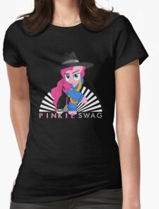 pinkie swag Womens Fitted T-Shirt