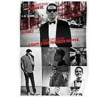 G-Eazy - 'Lyrics' Collage Poster