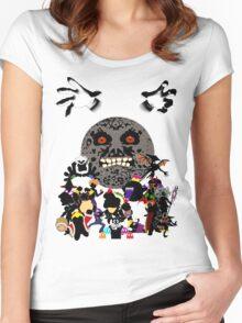 Villains of Nintendo Women's Fitted Scoop T-Shirt