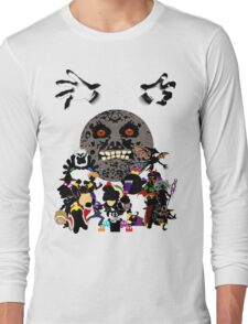 Villains of Nintendo Long Sleeve T-Shirt
