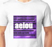 AEIOU Unisex T-Shirt