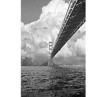 Bridge through clouds Photographic Print