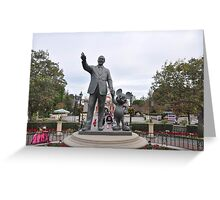 Walt and Mickey Greeting Card