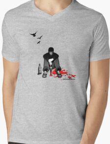 Murder Mens V-Neck T-Shirt