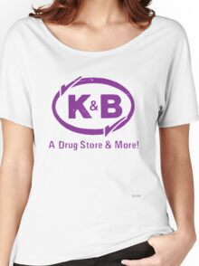 K&B (white) Women's Relaxed Fit T-Shirt