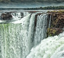 Iguazu Falls - Over the Edge  by photograham