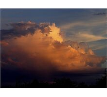 Clouds of Many Colors Photographic Print