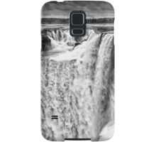 Iguazu Falls - Over the Edge - in Monochrome Samsung Galaxy Case/Skin